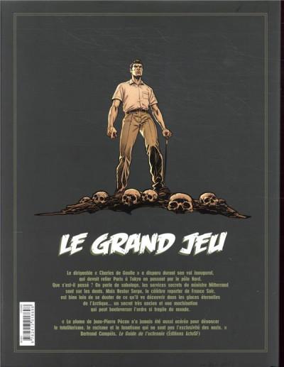 Dos Le grand jeu - intégrale tomes 1 à 3