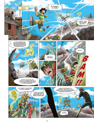 Page 8 Les mythics tome 9