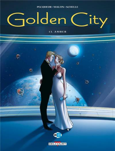 Couverture Golden city tome 13