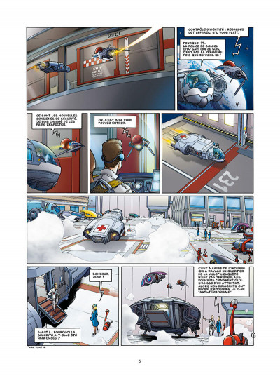 Page 5 Golden city tome 13