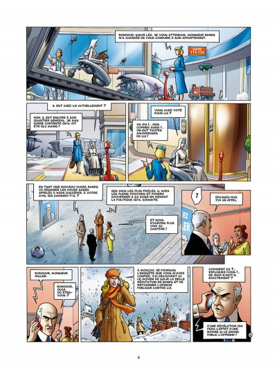 Page 6 Golden city tome 13