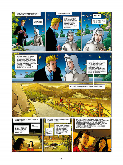 Page 8 Golden city tome 13