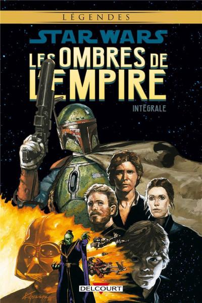 Couverture Star wars - Les ombres de l'empire - intégrale