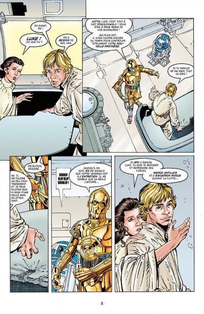 Page 8 Star wars - Les ombres de l'empire - intégrale