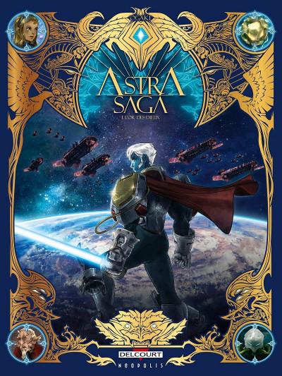 Couverture Astra saga tome 1 + ex-libris offert