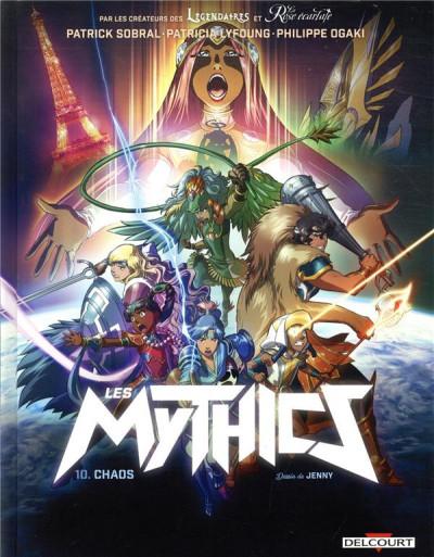 Couverture Les Mythics tome 10