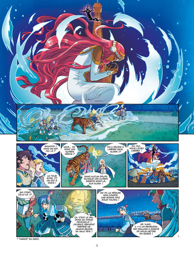 Page 5 Les Mythics tome 10