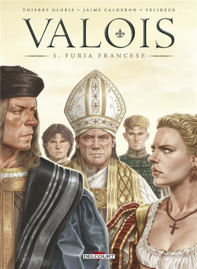 Couverture Valois tome 3
