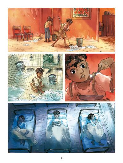 Page 5 Le silence est d'ombre