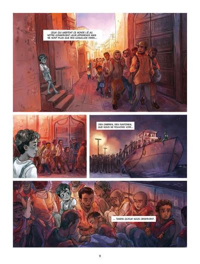 Page 9 Le silence est d'ombre