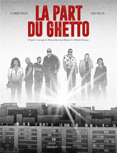 Couverture La part du ghetto