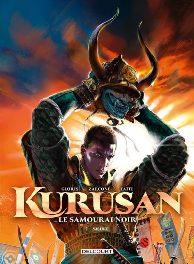 Couverture Kurusan, le samuraï noir tome 1