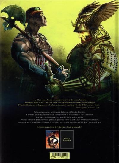 Dos Kurusan, le samuraï noir tome 1