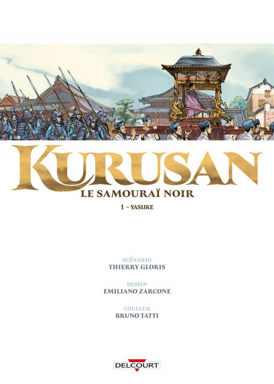 Page 1 Kurusan, le samuraï noir tome 1