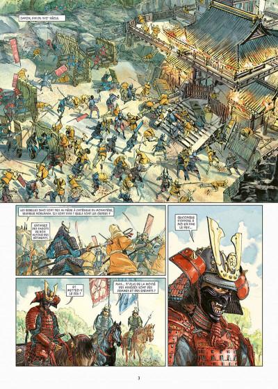 Page 3 Kurusan, le samuraï noir tome 1