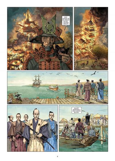 Page 4 Kurusan, le samuraï noir tome 1