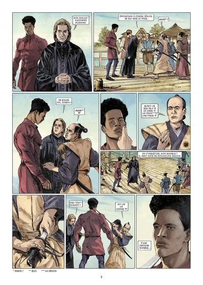 Page 5 Kurusan, le samuraï noir tome 1