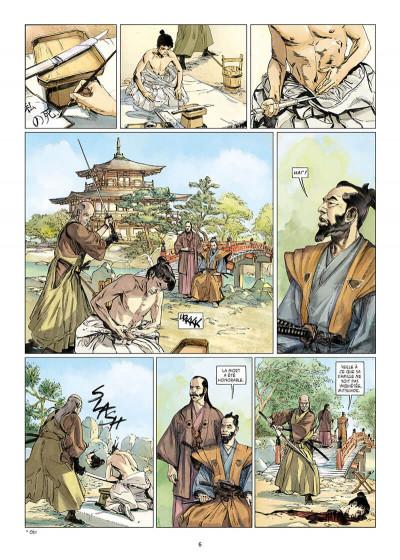 Page 6 Kurusan, le samuraï noir tome 1