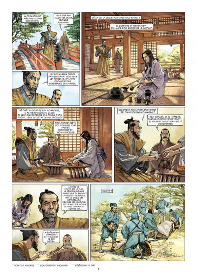 Page 7 Kurusan, le samuraï noir tome 1