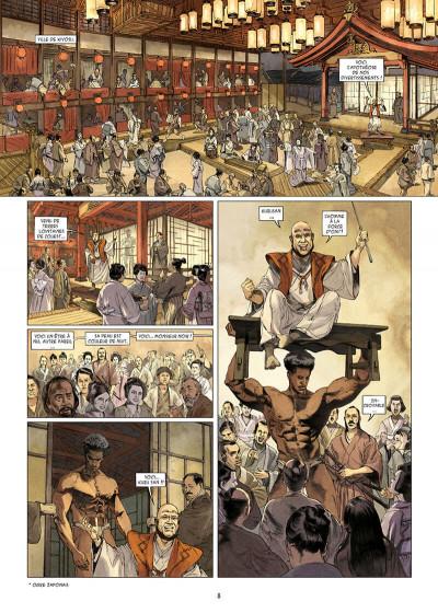 Page 8 Kurusan, le samuraï noir tome 1