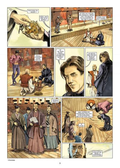 Page 9 Kurusan, le samuraï noir tome 1
