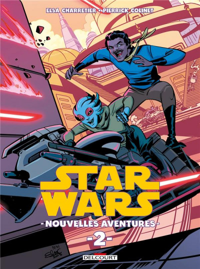 Couverture Star wars - nouvelles aventures tome 2