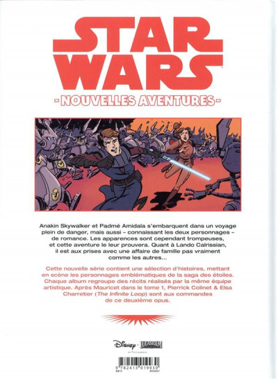 Dos Star wars - nouvelles aventures tome 2