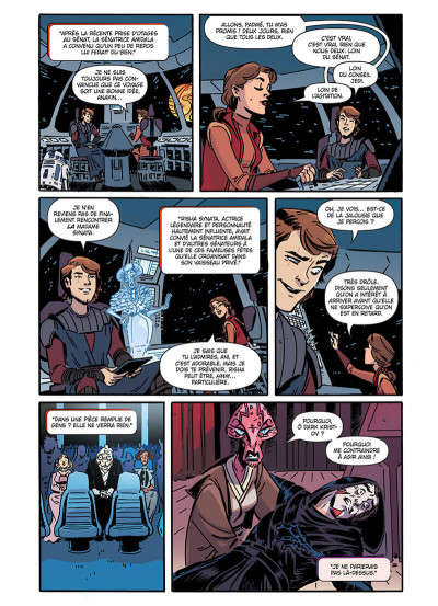 Page 5 Star wars - nouvelles aventures tome 2