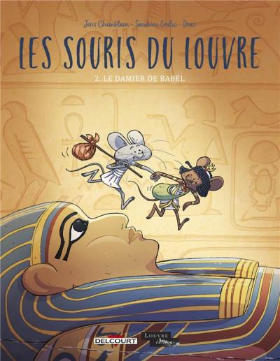 Couverture Les souris du Louvre tome 2