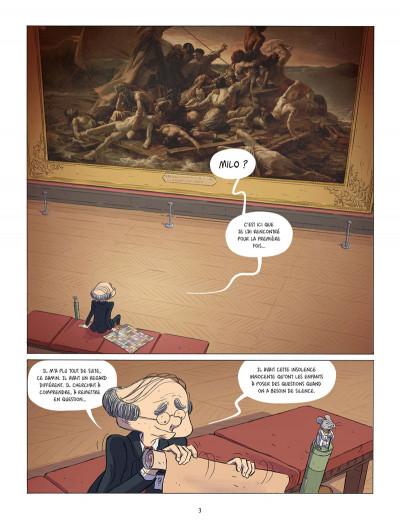 Page 1 Les souris du Louvre tome 2