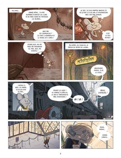 Page 3 Les souris du Louvre tome 2