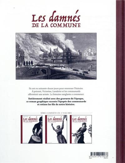 Dos Les damnés de la commune tome 3