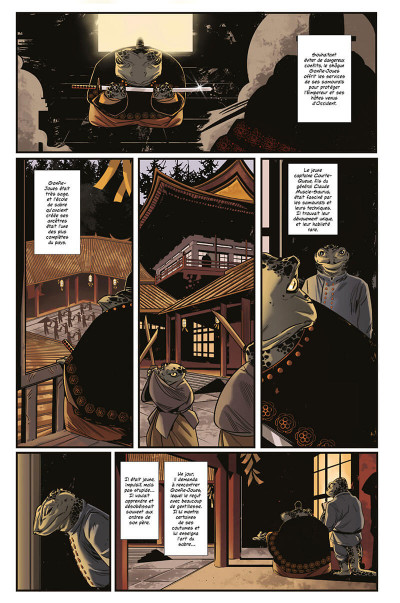 Page 8 Gaijin salamander tome 1