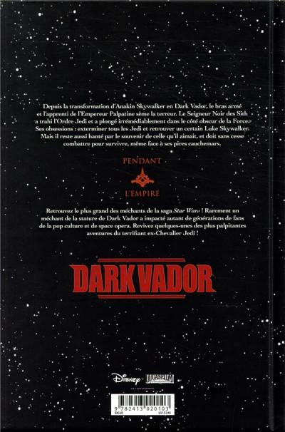 Dos Star wars - Dark Vador intégrale tome 1