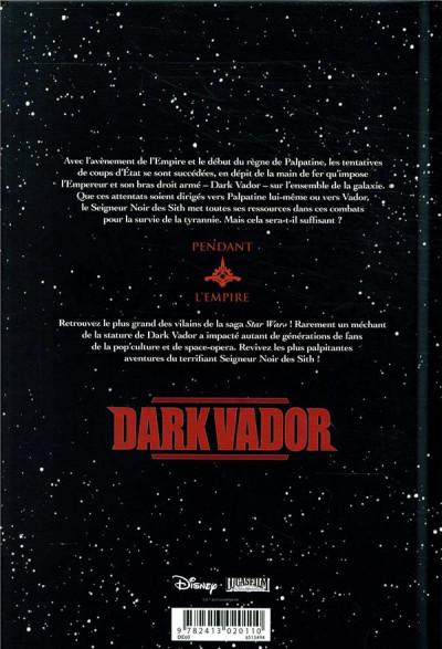 Dos Star wars - Dark Vador intégrale tome 2