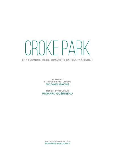 Page 7 Croke Park - Dimanche sanglant à Dublin