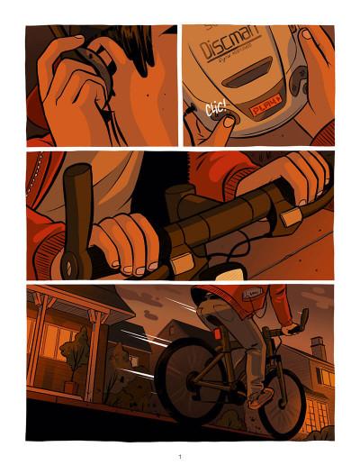 Page 1 Ollie et l'alien