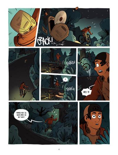 Page 4 Ollie et l'alien