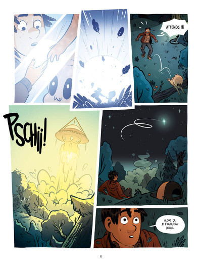 Page 6 Ollie et l'alien
