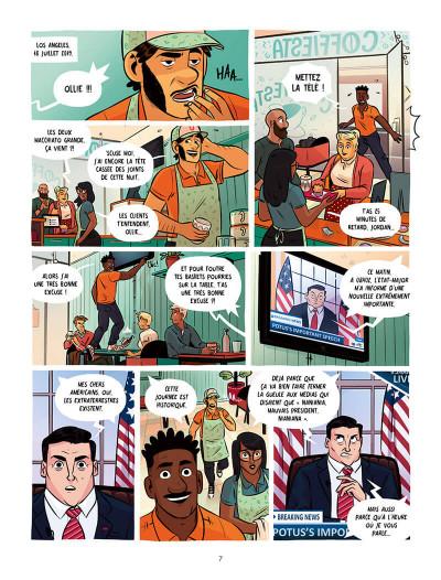 Page 7 Ollie et l'alien