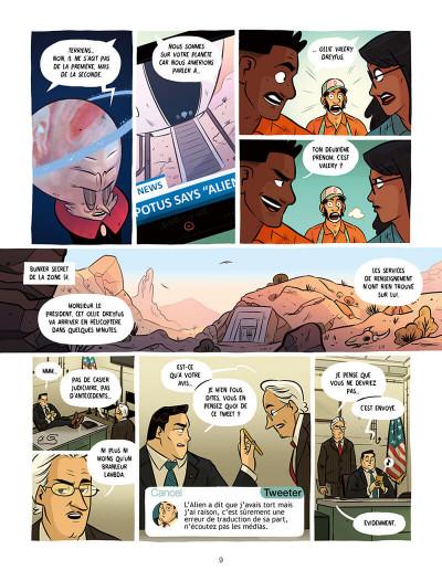 Page 9 Ollie et l'alien
