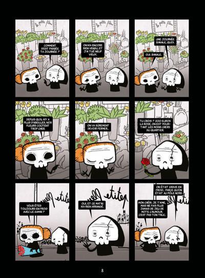 Page 8 La petite mort tome 4