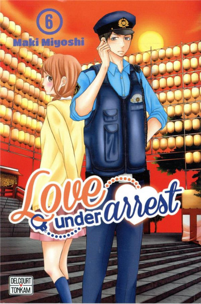 Couverture Love under arrest tome 6