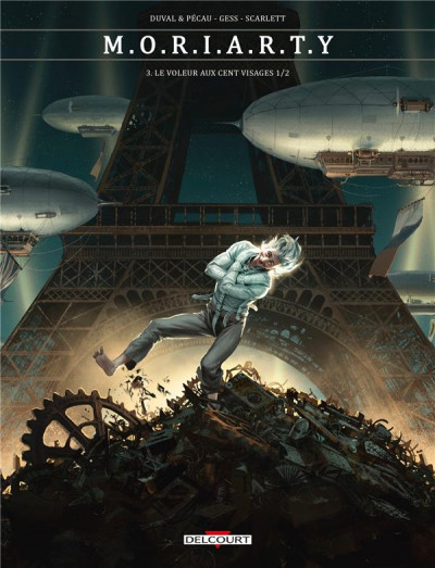 Couverture Moriarty tome 3