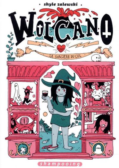 Couverture Wolcano, une sorcière trop amoureuse