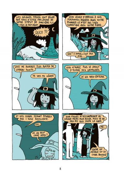 Page 9 Wolcano, une sorcière trop amoureuse