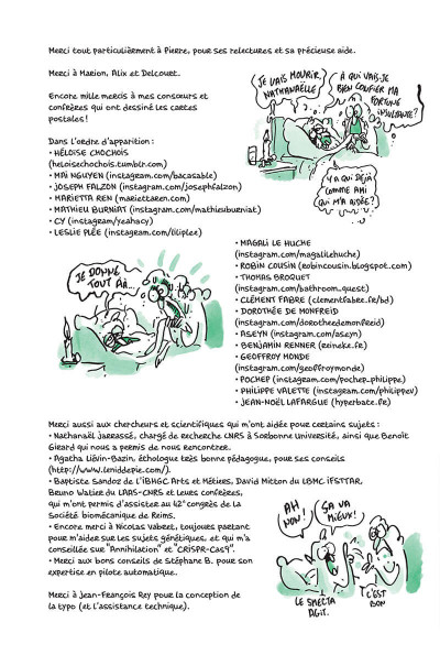Page 3 Tu mourras moins bête tome 5