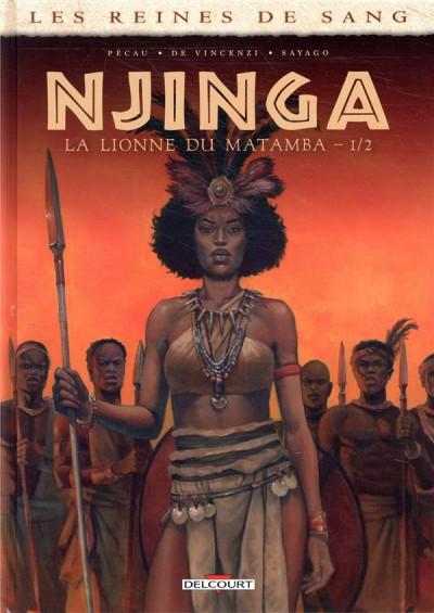 Couverture Njinga, reine d'Angola tome 1