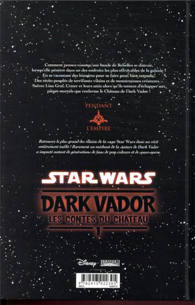 Dos Star wars - Dark Vador - les contes du château tome 1