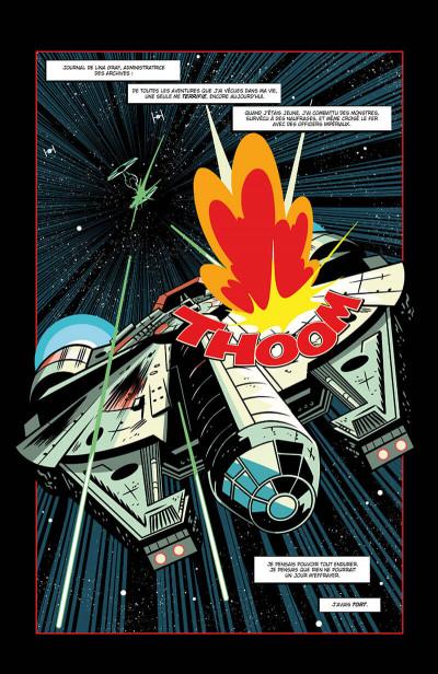 Page 5 Star wars - Dark Vador - les contes du château tome 1